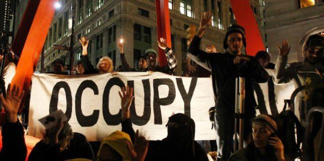 Occupy-Protest in der Wall Street (Archivbild): Geldinstitut für Arme
